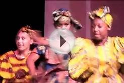 African Dance in Los Angeles by Pise performing arts school
